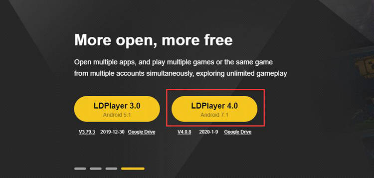 Download LDPlayer 4