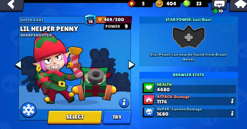 Penny Brawl Stars Guide (Overview, Stats, Abilities and Tips)