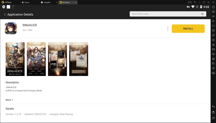 Search anddownload SINoAlicefrom LD Store
