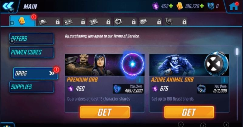 Marvel Strike Force Orb Management and Top Trios Guide