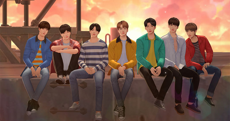 BTS Universe Story Game Introduction and How to create Stories?