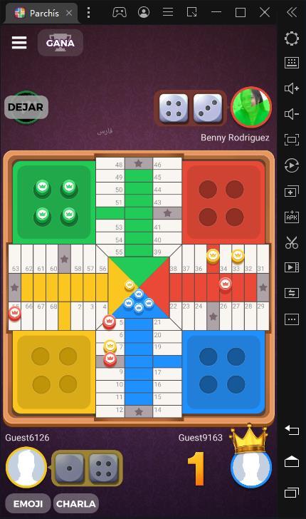 Mejor juego para matar el tiempo: Parchisi STAR