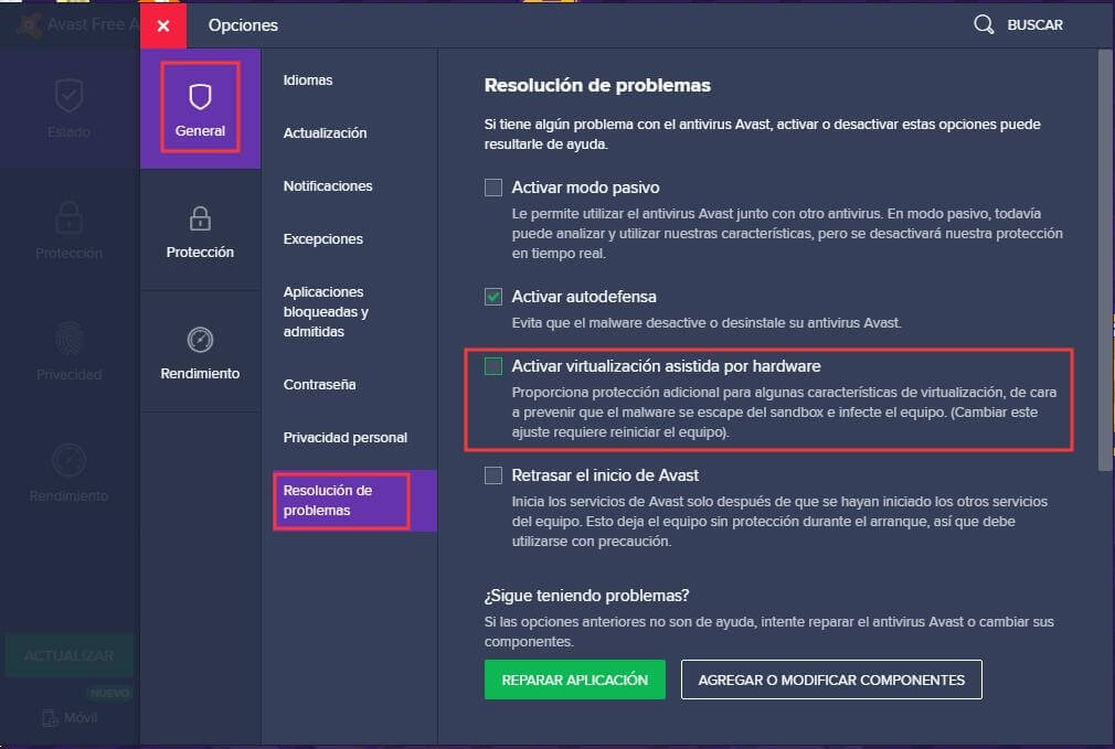 Solución al retraso resultante del software antivirus