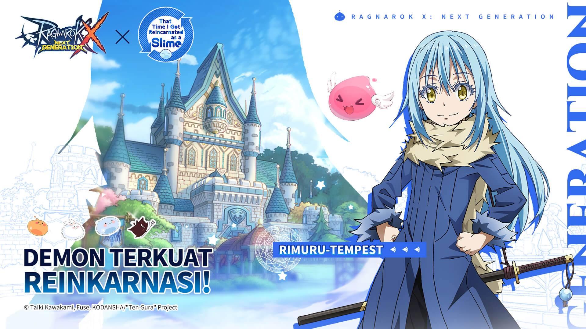 "Kolaborasi Ragnarok X: Next Generation Dengan Anime Populer ""That Time I Got Reincarnated as a Slime"" Kini Sudah Hadir!"