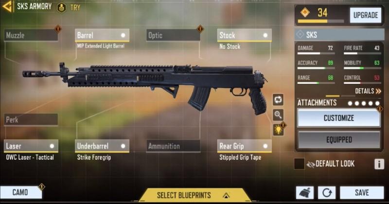 Call Of Duty Mobile - Apakah SKS Baru Layak?