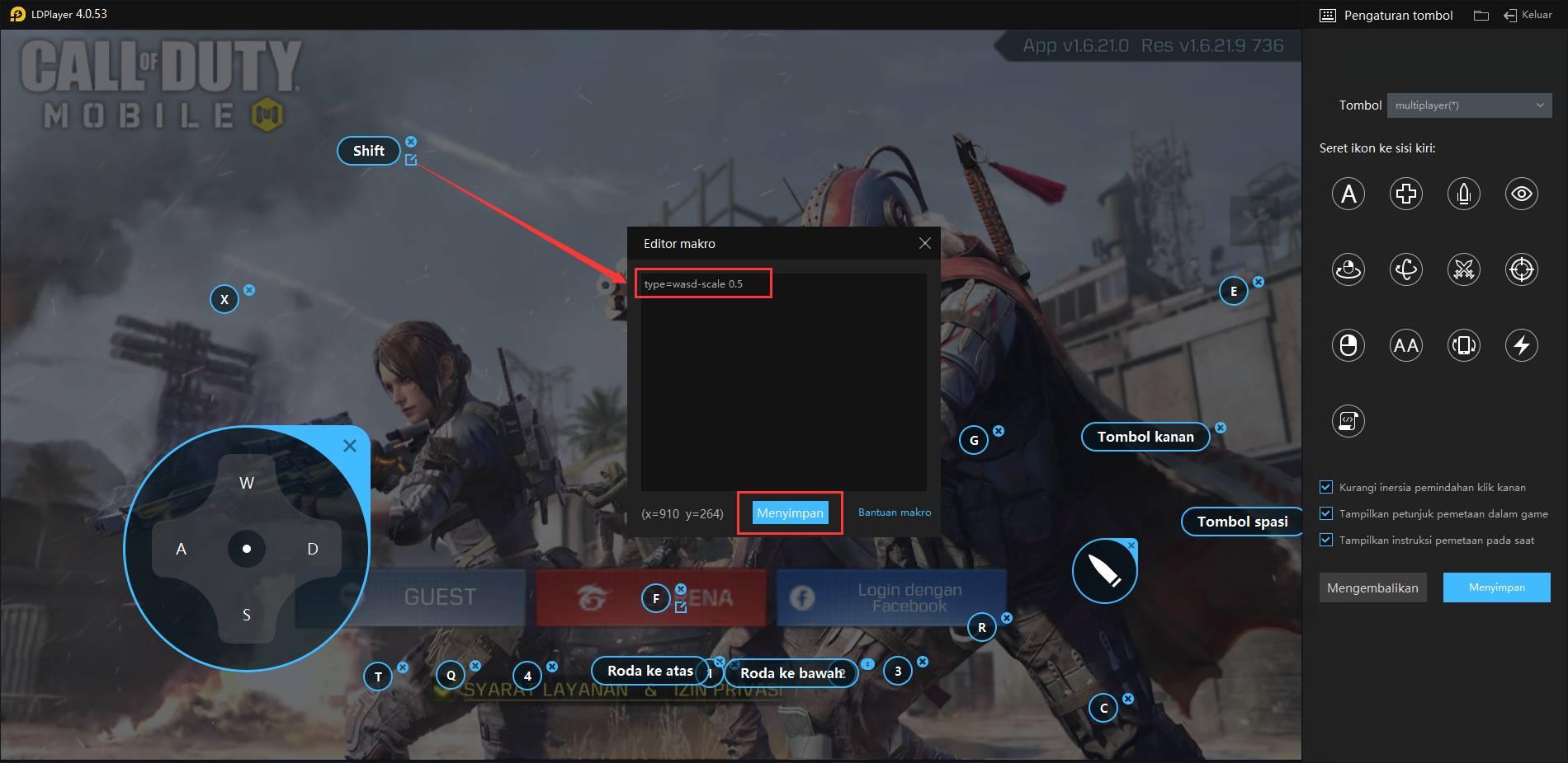 Mendukung Standoff 2 Call of Duty PUBG dan permainan lainnya fitur perjalan pelan.