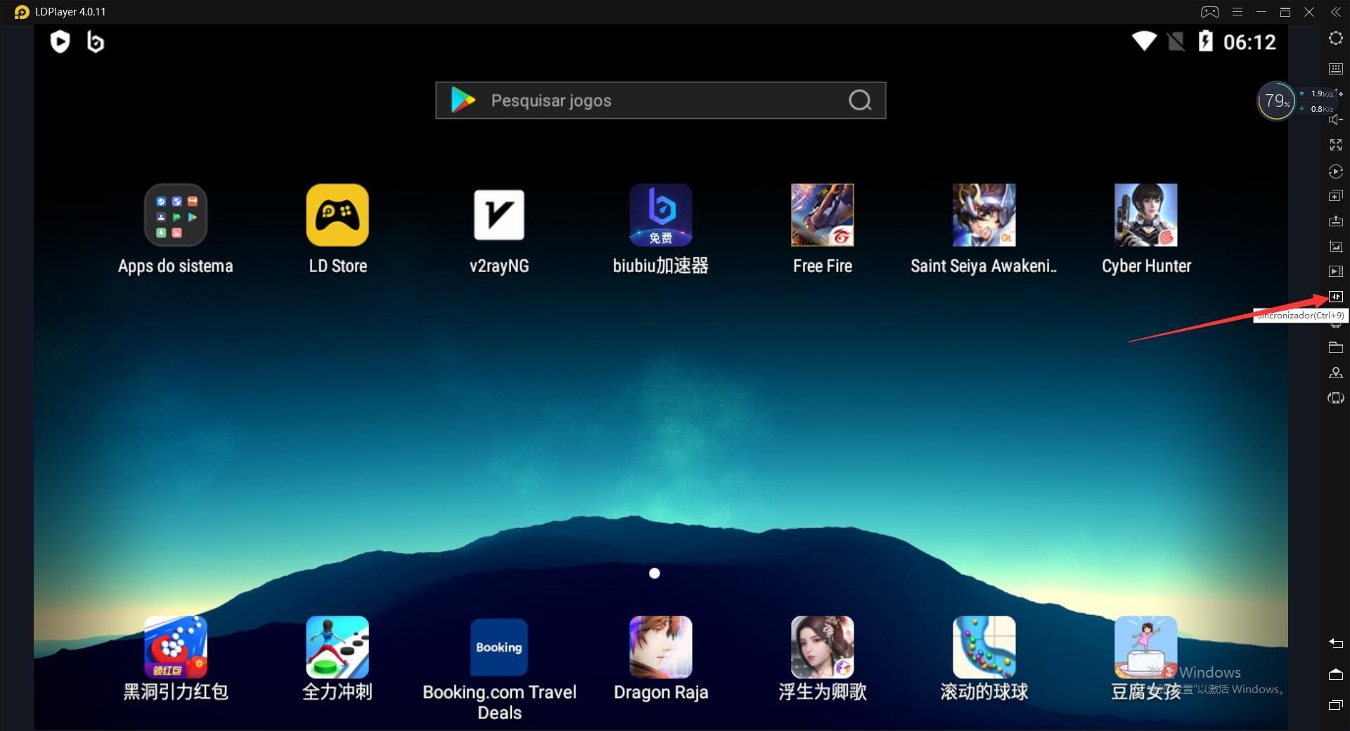 Sincronize o emulador do Android | Como usar a ferramenta Sincronizadora