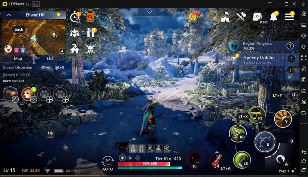 Guia de Suporte do Gamepad / Controlador para Black Desert Mobile PC