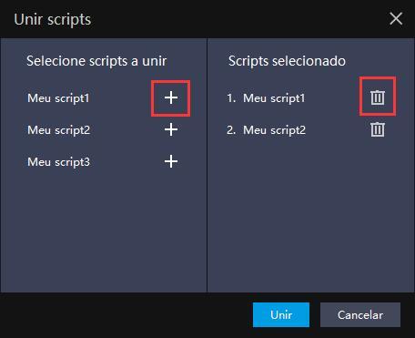 Porque combinar scripts ? | Dicas de configuração