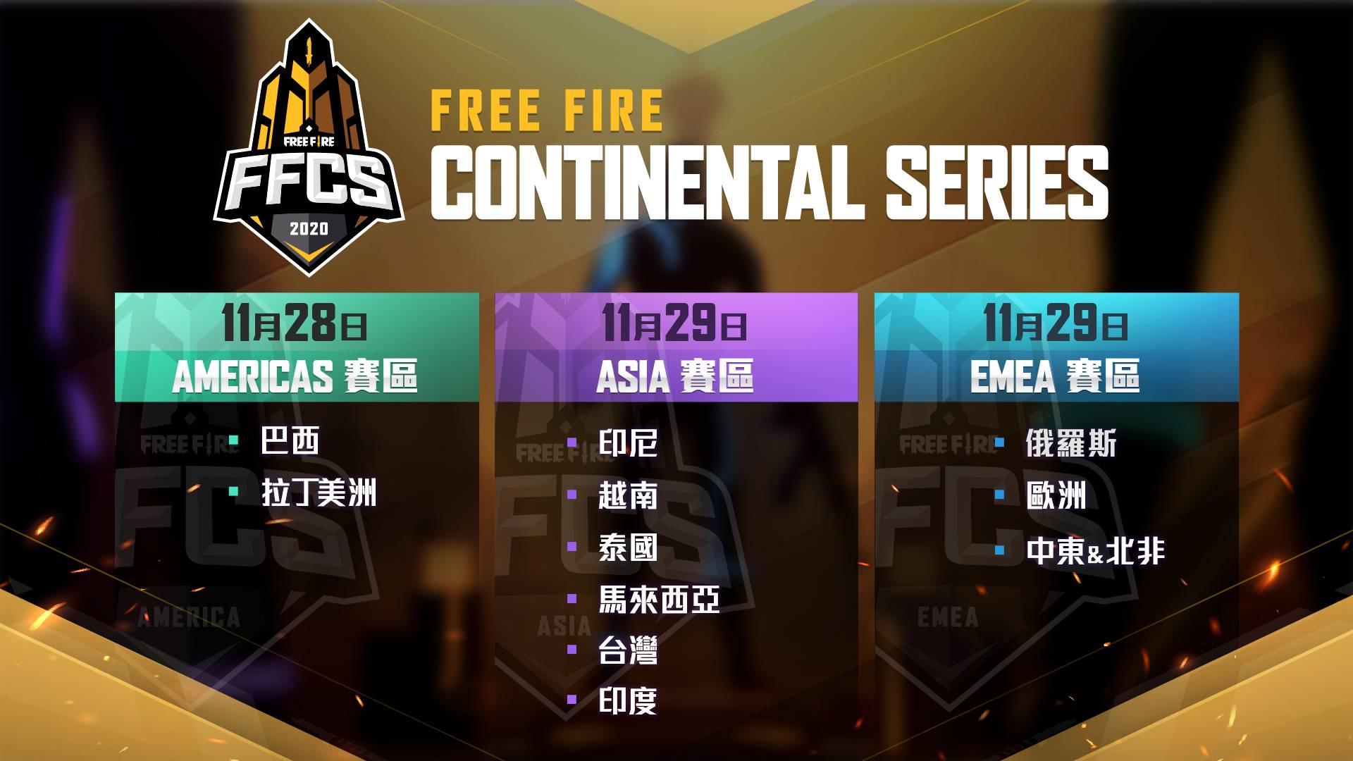 《Free Fire - 我要活下去》宣布推出 2020 大型國際賽事FFCS 賽區總獎金高達30萬美金