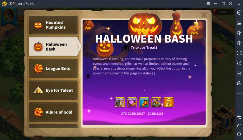 Rise of Kingdoms on PC: Spooky Halloween...