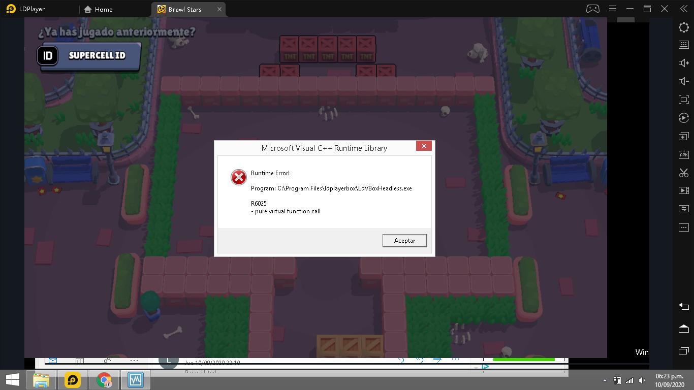 ¿Como resolver el problema de Microsoft Visual C ++ Runtime Library?