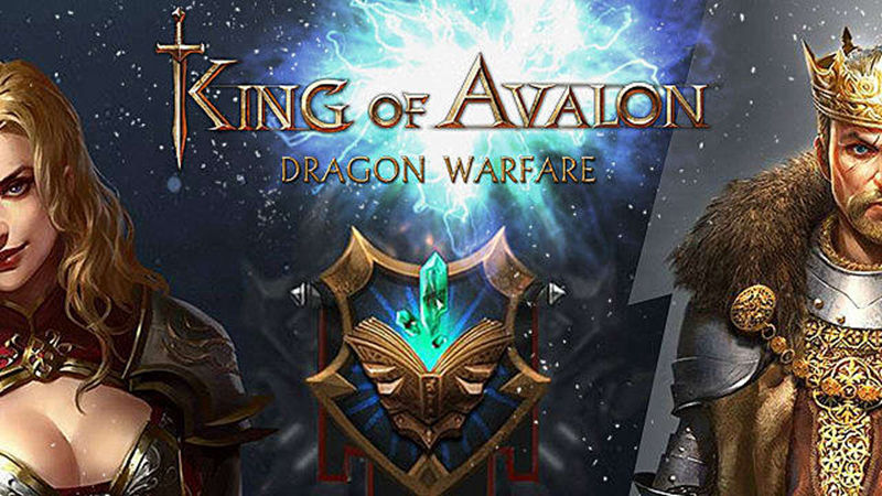 Play King of Avalon: Dragon Warfare on P...